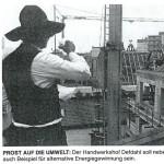 Handwerkshof Defdahl - Beispiel für alternative Energiegewinnung Quelle: WAZ