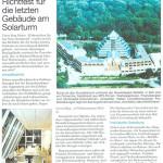 Richtfest für die letzten Gebäude am Solarturm Quelle: RN-Plus